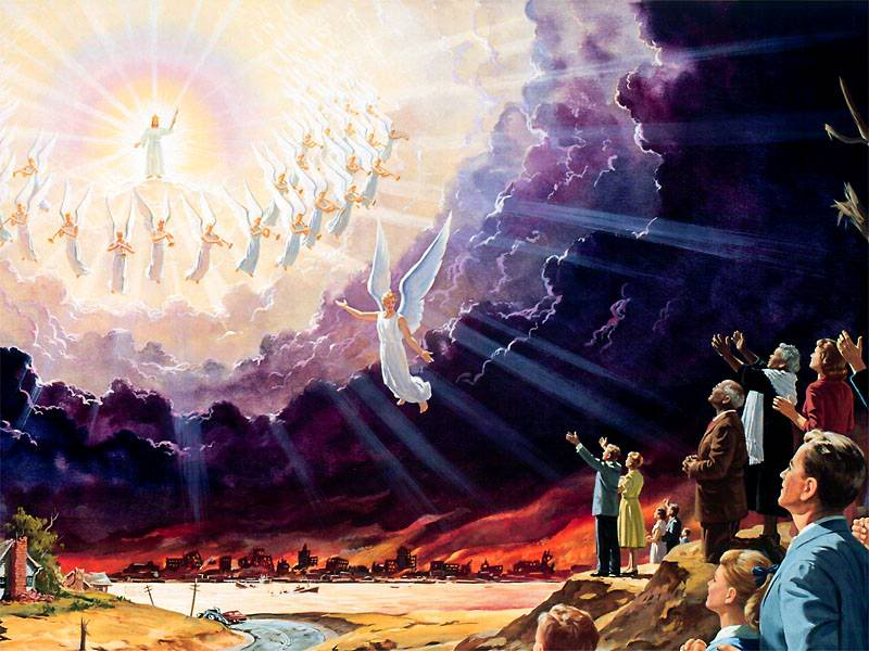 kedatangan tuhan