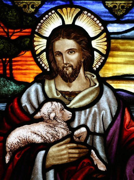 yesus dan domba