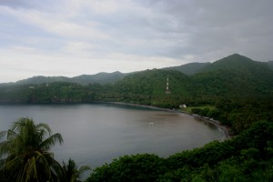 Lombok pemandangan dari atas