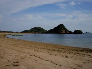 Pantai Kuta Lombok hunian berbintang