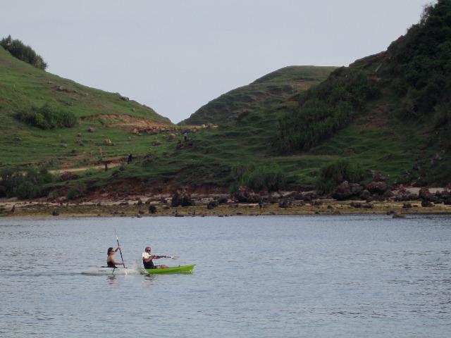 Pantai Kuta canoeing