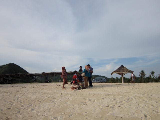 Pantai Kuta pedagang
