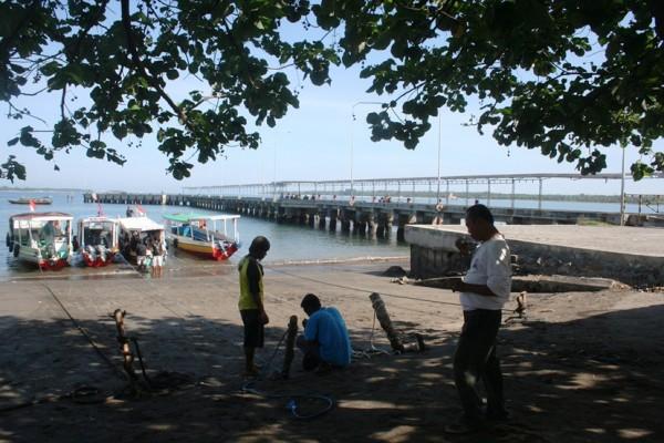 Pelabuhan Bangsal Lombok dermaga