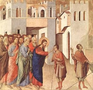 jesus menyembuhkan orang buta pada hari sabath