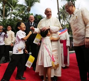 paus dan presiden filipina 1