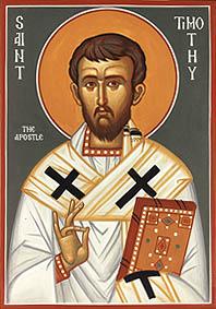 santo timotius