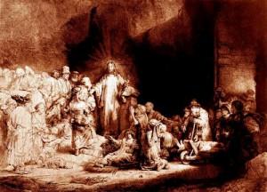 yesus di yudea by rembrandt