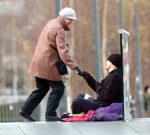 Beggar.......Fin Davern on Tate Bridge.