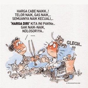 Kartun karya Hadi Prasetyawan / Provokartun.com