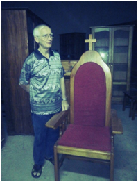 Bruder Donatus Thewes SVD / Foto : Pater Konstantinus Talung SVD