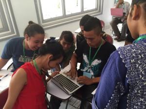 Para peserta Pelatihan Jurnalistik dan Lay Out di Atambua/ Foto: Dio Bowo