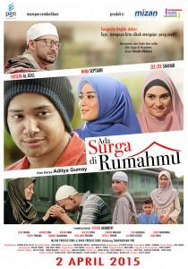 Poster Film ADA SURGA DI RUMAHMU