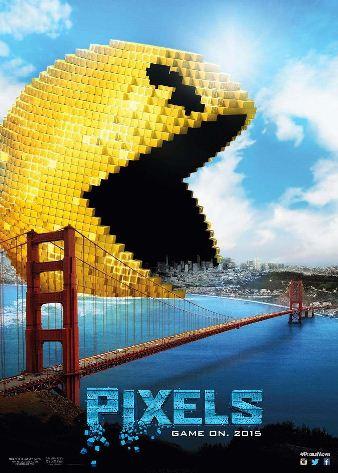 Poster Film PIXELS 2015