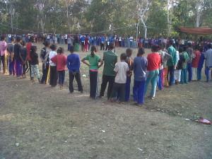 510 anak mengikuti pendadaran THS THM di Sadi dan Malaka,