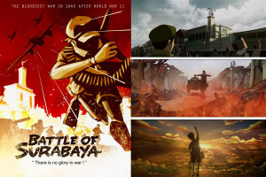 Cuplikan Adegan Battle of Surabaya