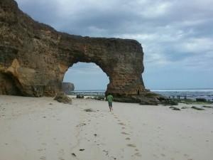 Pantai Bawana / Foto: Romo Willy Ngongo CSsR