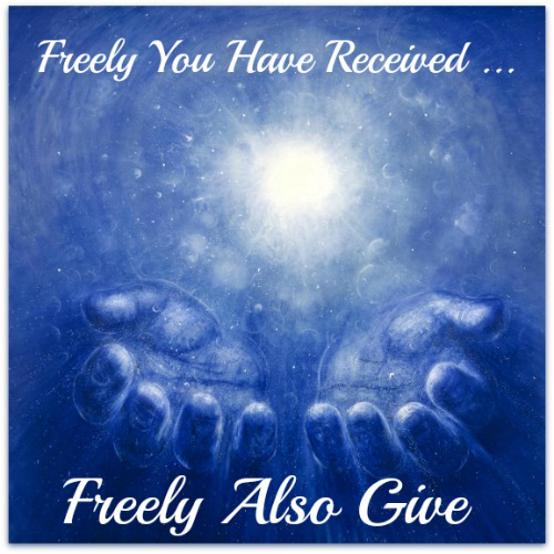 Freely We Have Received Freely We Give Sesawi Net