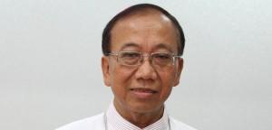 Uskup Agung Palembang dan Administrator Apostolik Tanjungkarang Mgr Aloysius Sudarso SCJ saat ditemui di Gedung Konferensi Waligereja Indonesia (KWI) Cut Meutia Menteng, Jakarta Pusat, Jumat, 9/11.