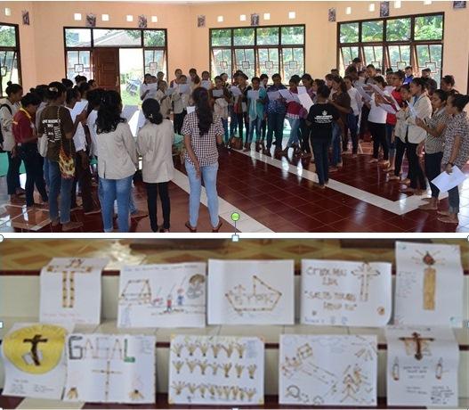 Sorong Rekoleksi mahasiswa STIKP St. Benediktus2