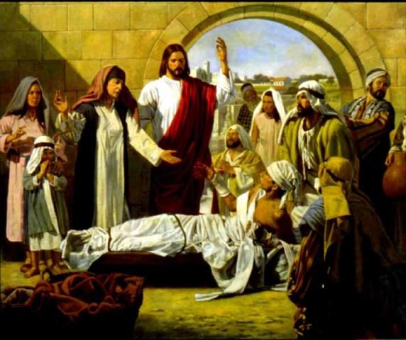 Yesus Dan Janda Yang Kehilangan Anak Satu Satunya Karena Mati Sesawi Net