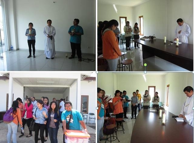Upacara pemberkatan lokasi dan beberapa ruangan di areal kampus baru Unika Atma Jaya Jakarta di lahan seluas 20 Ha di kawasan Serpong, Tangerang. (Royani Lim)