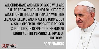 paus fransiskus soal hukuman mati
