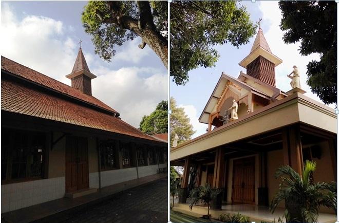 gereja paroki wedi 1
