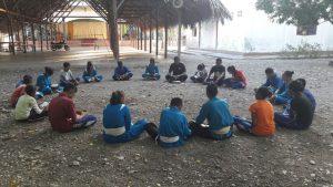 Suasana sharing Kitab Suci bersama