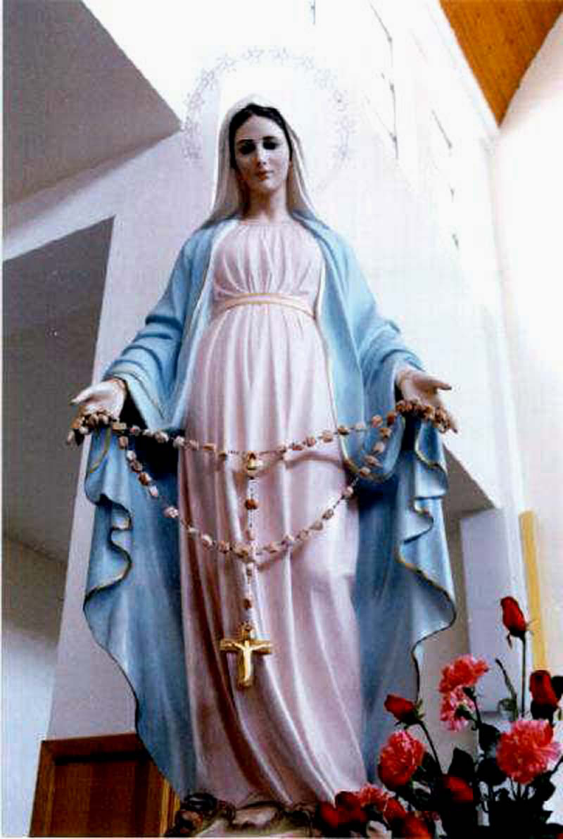 Peringatan Wajib Santa Perawan Maria Ratu Rosario Sesawi Net